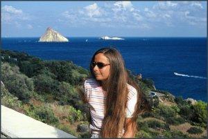 LAB a panarea, le isole eolie, 2001