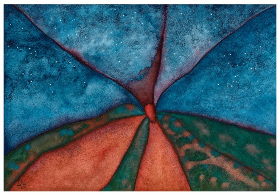 strombolian stars (or the spider volcano,2)